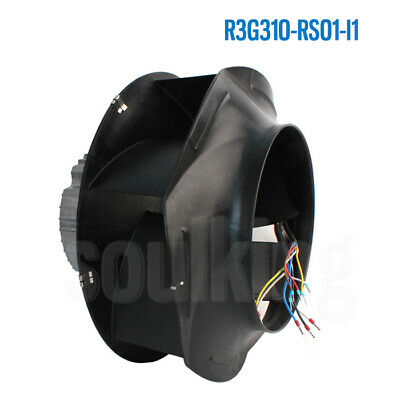 One New Ebmpapst R3g310-rs01-i1 200-277v 3.2a 730w Fan Free Expedited Shipping