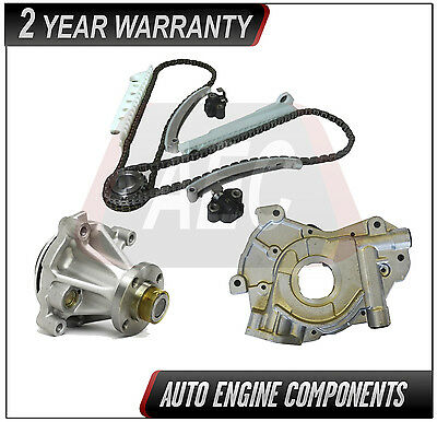 Timing Chain + Oil & Water Pump Fits Ford Expedition F150 Windsor 4.6l