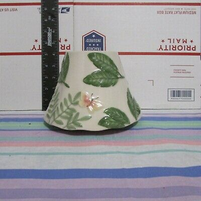 Yankee Candle Island Butterfly Retired Jar Shade