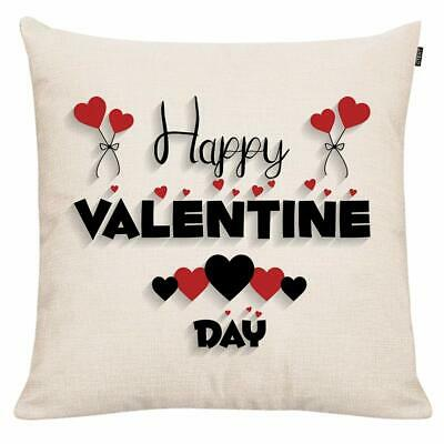 Gtext Happy Valentines Day Pillow Cover Valentines Day Decor Throw Pillow Cover