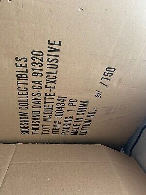 Sideshow Exclusive Thanos On Throne Statue X-men 511/750 Sold Out!