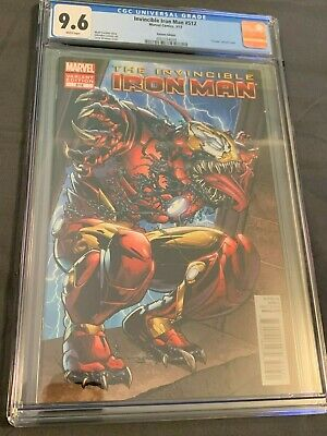 Invincible Iron Man #512 Venomized Variant 2012