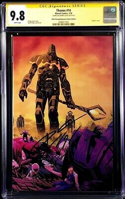 Thanos #14 Cgc Ss 9.8 Donny Cates Cosmic Ghost Rider Silver Surfer Black Endgame