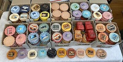 250 Yankee Candle Tart Lot Many Long Retired All Pictured Melts 99 Cents Each!!