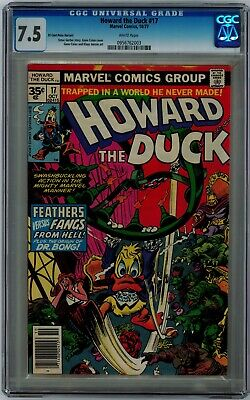 Howard The Duck #17 35 Cent Price Variant 7.5 Cgc