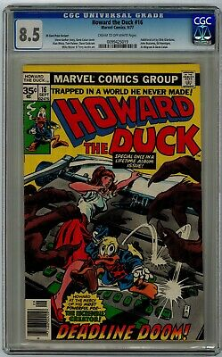 Howard The Duck #16 35 Cent Price Variant 8.5 Cgc
