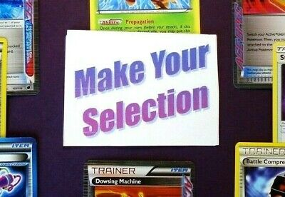 💥SELECT YOUR POKEMON CARD DECK STAPLES💥 Standard Format Legal Trainers U PICK!