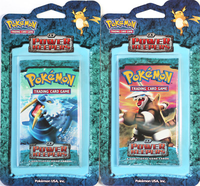 Pokemon EX Power Keepers Blister Pack Sealed NM Walrein Aggron Trusted Seller!