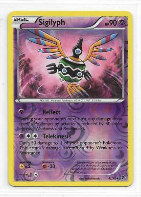Pokemon --- Sigilyph --- B/w Emerging Powers!! Reverse Holo!! Mint!! 41/98