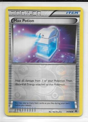Pokemon --- MAX POTION --- B/W Emerging Powers!! REVERSE HOLO!! MINT!! 94/98