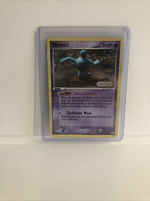 Pokemon Ex Legend Maker Stamped Holo Wynaut Psa?