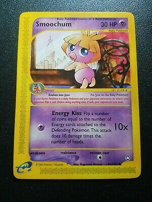 Pokemon Aquapolis Smoochum Uncommon (61/147) NEAR MINT
