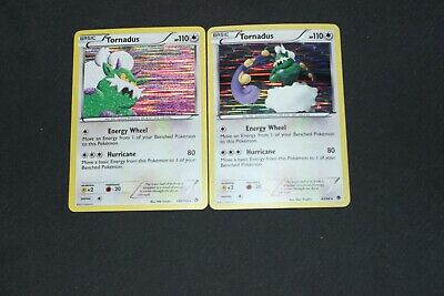Pokemon Card LP-PL Holo Rare Tornadus 108/113 Legendary & 89/98 Emerging Powers