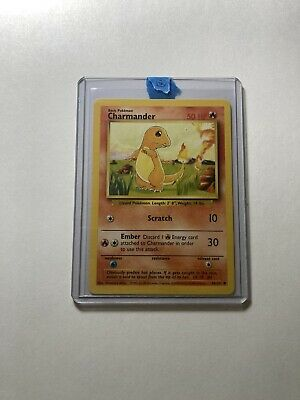 Charmander Base Set Unlimited 46/102 Common Pokemon Card