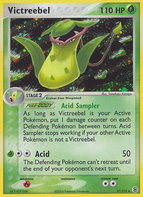 Victreebel - 17 - Lightly Played Holofoil - EX: FireRed & LeafGreen - Pokemon