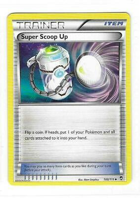 Pokemon --- SUPER SCOOP UP --- XY Furious Fists! Uncommon Trainer! MINT! 100/111