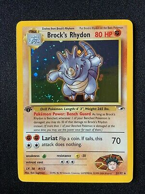 Pokemon 1st Edition Gym Heroes - Your Choice (Combined Shipping Offered)