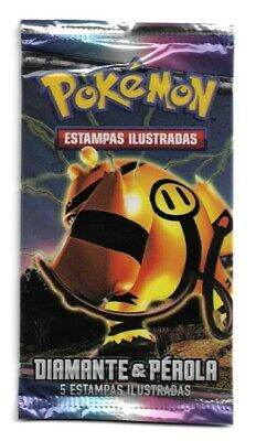 Pokemon Diamond & Pearl Base Booster Pack - New, Portuguese, Electivire Packart