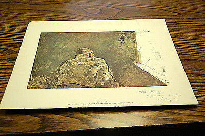 Andrew Wyeth Spring Sun Signed Print  S4675