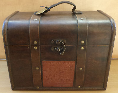 vhtf collectible vtg famous grouse wooden chest