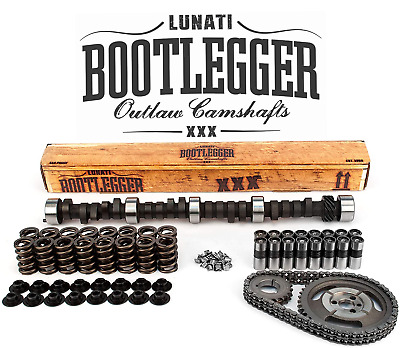 Lunati Bootlegger Performance Camshaft Kit For Chevrolet Sbc 350 .515/.515 Lift
