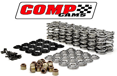 "Comp Cams .660"" Dual Valve Springs Kit W/ Steel Ret For Chevrolet Gen Iii Iv Ls"