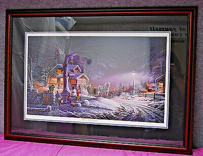 Winter Wonderland By Terry Redlin Artist Proof 653/2950 Signed Le  A1041