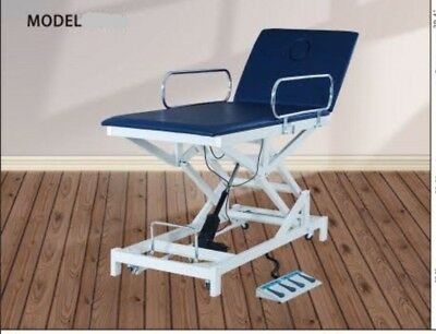 top rated hi lo electric physical therapy table, blue, new 1 year warranty