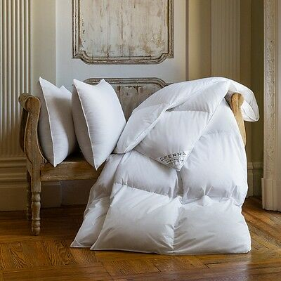 Sferra Cornwall Canadian White Goose Down Pillow In 900+ Fill Power