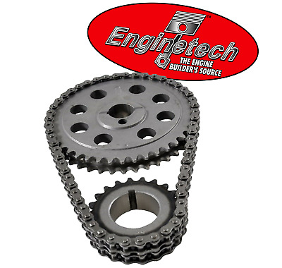 Hd Double Roller Timing Chain Set For Ford Sbf 302 347 351w Windsor 5.0l 5.8l