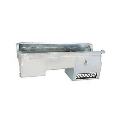 Moroso 20620 Oil Pan Steel Clear Zinc 7 Qt. For Ford 429/460