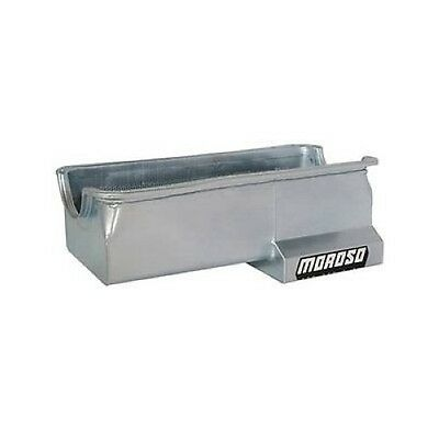 Moroso 20614 Oil Pan Steel Clear Zinc 7 Qt. For Ford 429/460