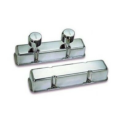 Moroso 68374 Die-cast Aluminum Valve Covers Chevy Sbc 283 305 350 400 Polished