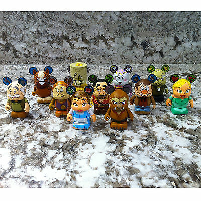 Disney Parks Beauty And The Beast Vinylmation Series 1 Set Of 11 Common - 3 Inch