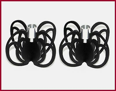 Sale 34% Off Candle Holders Wrought Iron Metal Home Decor New Set 2 Votive Black