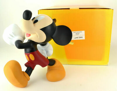 Extremely Rare! Walt Disney Mickey Mouse Walking Demons & Merveilles Le Statue