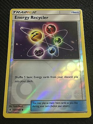 Pokemon : SM GUARDIANS RISING ENERGY RECYCLER 123/145 UNCOMMON REVERSE