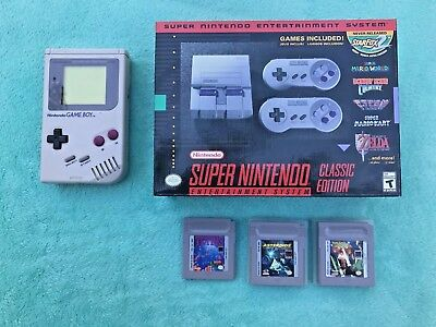 Brand New Unopened Super Nintendo: Snes Classic Edition With Original Gameboy
