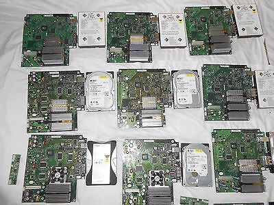 Lot Of 15 Mainboard & Hard Drive For Original Xbox  Tested And Work.see Details