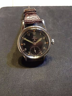 Stainless Steel Original Omega Wwii  1945