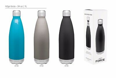 H2go Force 34oz Double Wall Thermal Bottles With 1-color Imprint - Qty 48