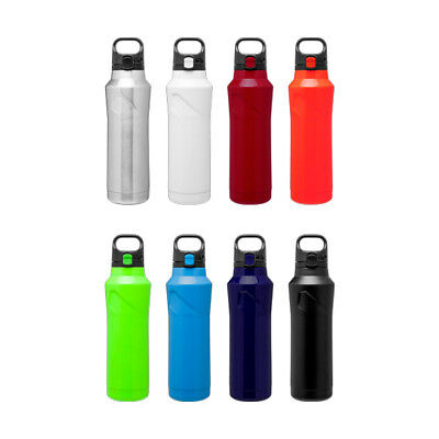 H2go Houston 20.9 Oz Double Wall Thermal Bottles With 1-color Imprint - Qty 48