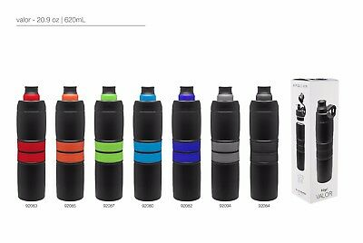 H2go Valor 20.9 Oz Double Wall Thermal Bottles With 1-color Imprint - Qty 48