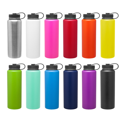 H2go Venture 40 Oz Double Wall Thermal Bottles With 1-color Imprint - Qty 48
