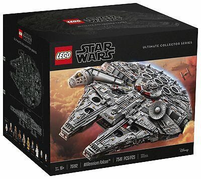 Lego Star Wars Ultimate Millennium Falcon 75192 (7541 Pieces) In Hand!!!