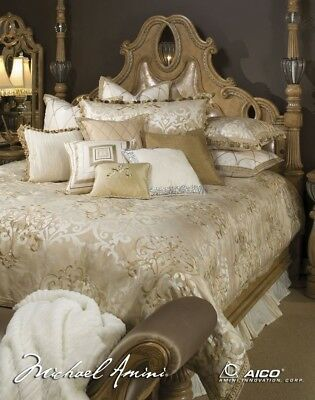 Luxembourg 13 Piece Comforter, King, Creme