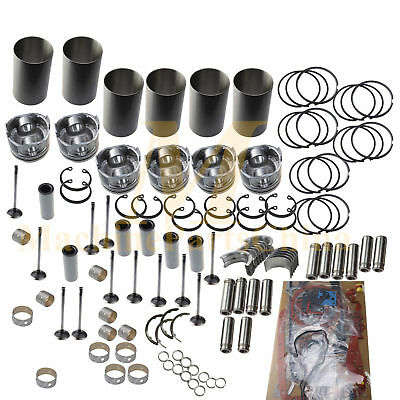 Overhaul Rebuild Kit For Doosan Daewoo De12tis Engine Solar 400lc 340lc