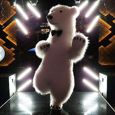 new inflatable furry suit polar bear costume, great events and parties 2019!