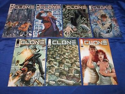 Clone (2012) #1-7 1st Prints Image Skybound Schulner Ryp Future Tv Show Nm