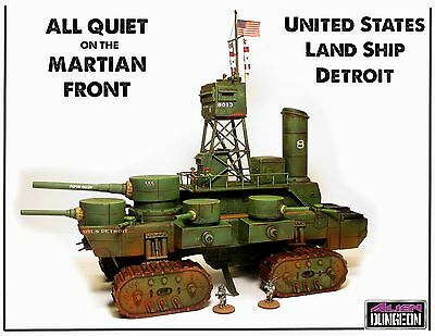 Us025-the Land Ironclad- All Quiet On The Martian Front-alien Dungeon